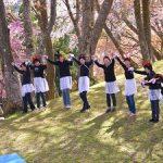 4月16日 丸山公園を彩るMTE48と若きカメラマン