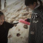 1月21日 奈良県御杖村で雪遊び【雪だるまづくり】