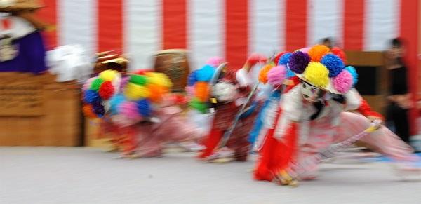 奈良県曽爾村 獅子舞