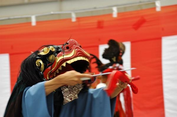 奈良県山添村 獅子舞