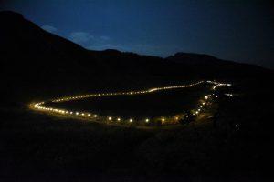 曽爾高原の山灯り(ライトアップ)2018もやってるよ。。。 @ 曽爾高原 | 曽爾村 | 奈良県 | 日本
