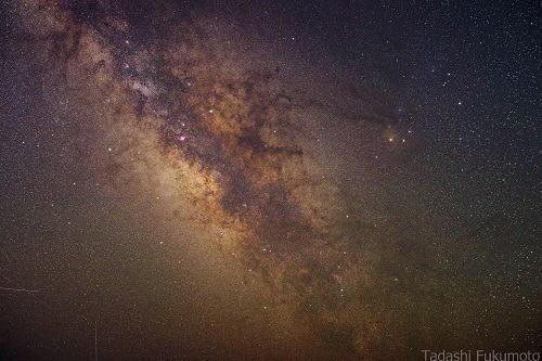 みつえ高原牧場から観る星座