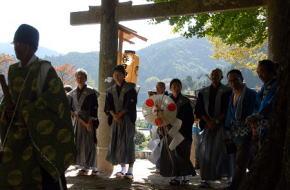 奈良県御杖村 秋祭りと獅子舞