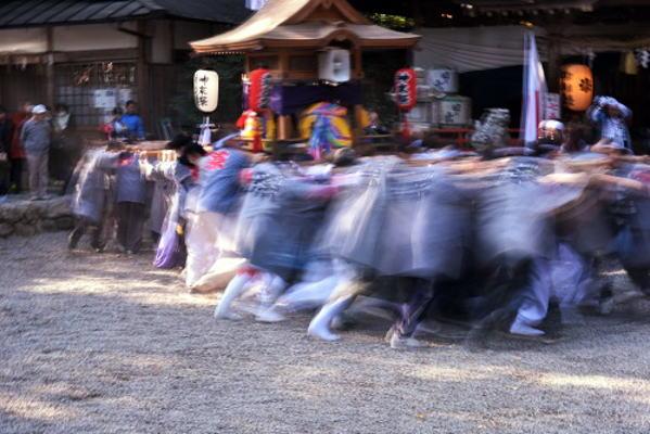 奈良県>御杖村/秋祭り・神輿・獅子舞