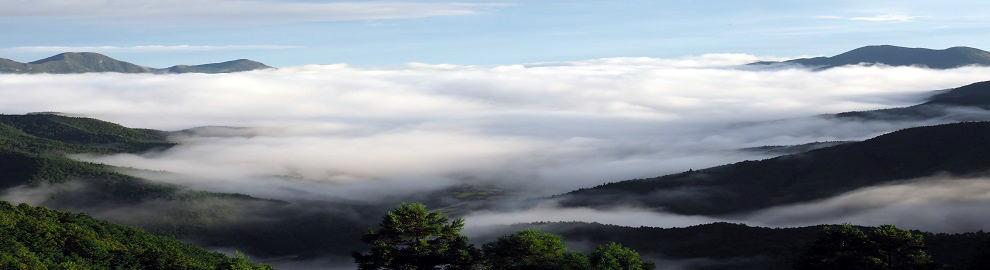 三峰山の雲海