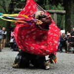 10月23日 御杖村菅野・四社神社の秋祭り【獅子舞】 /【2016.10.23 Part 1】
