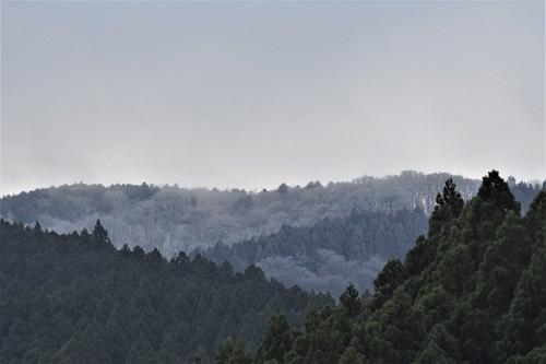 三峰山冬景色