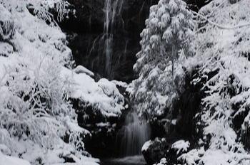 奈良県御杖村 雪化粧