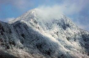 みつえ高原牧場 雪景色